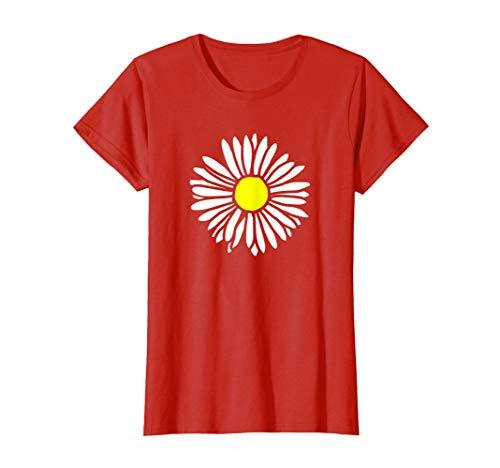 Womens Flower, Bloom, Daisy T-Shirt for Women ()