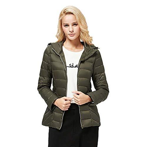 Capuche S Jacket Manteaux veste 2xl Manteau rose M Down Pour L Rouge Vert Ultra Femme Duvet Sac Avec Puffer De Green Courte Voyage À Noir beige Xl Légère Bw0w7d