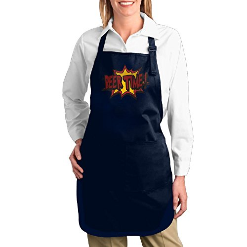 Costume Contest Meme (Dogquxio Beer Time Kitchen Helper Professional Bib Apron With 2 Pockets For Women Men Adults Navy)
