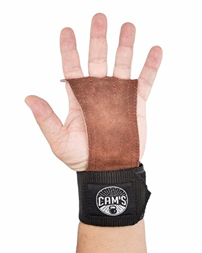 Workout Grips |Cam's| For Weightlifting, Gym Exercises & COMPLETE Comfort, Protection & Durability.