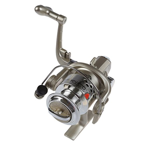 SODIAL(R) 6BB Ball Bearings Left/Right Interchangeable Collapsible Handle Fishing Spinning Reel SG3000 5.1:1(Silver) Review