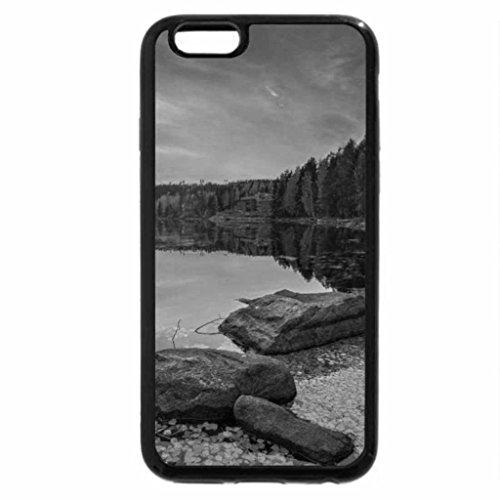 iPhone 6S Plus Case, iPhone 6 Plus Case (Black & White) - Kaunisharju