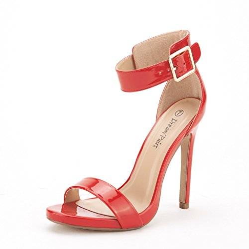 Women's Evening High Heels Red