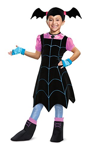 Disguise Vampirina Deluxe Child Costume, Black, X-Small/(3T-4T)