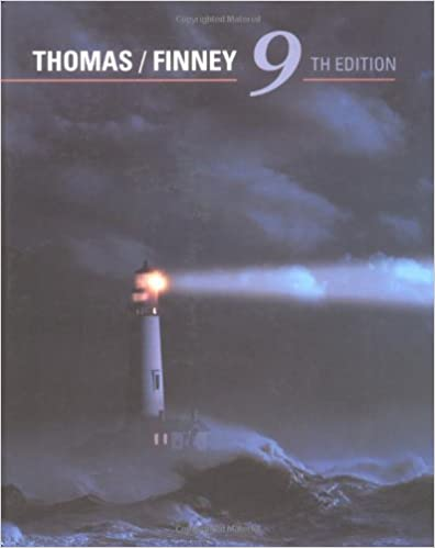 thomas finney calculus 10th edition solution manual pdf free download