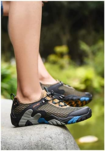 登山靴 メンズ トレッキングシューズ アウトドアシューズ スニーカー ハイキングシューズ ウォーキングシューズ 軽量 通気性抜群 滑りにくい 歩きやすい おしゃれ 旅行 キャンプ 夏 メッシュシューズ