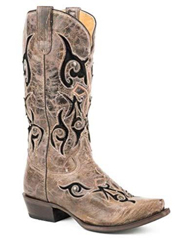 Roper Women's Velvet Baby Wonder Fit Cowgirl Boots