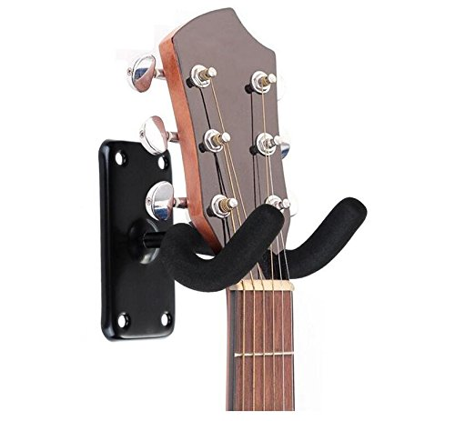 KELER Guitar Bass Ukulele Wall Mounted Hook Holder