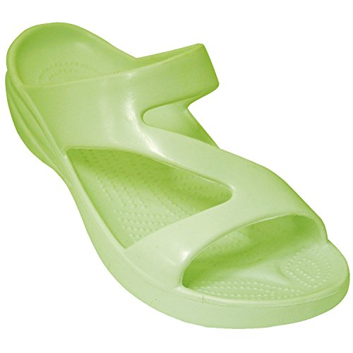 DAWGS Ladies Z Sandal,Soft Lime,11 M US