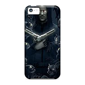 Premium Durable Halloween Monsters Desert Eagles Fashion Tpu Iphone 5c Protective Case Cover