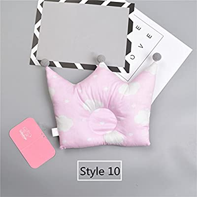Elibeauty Baby Pillow Crown Shape Prevents Children's Flat Head Crown Point Bedding Pillow Newborn Child Bedroom Decoration Accessories