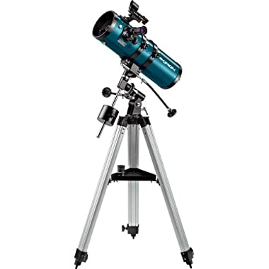 Orion 09798 StarBlast 4.5 Equatorial Reflector Telescope, Metallic Green