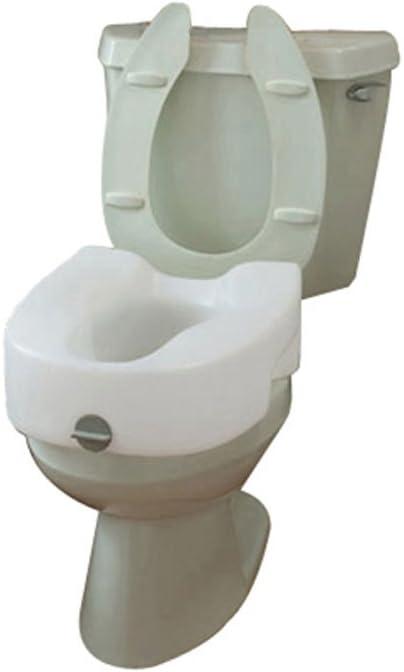 Maddak Bath Safe Lock On Elevated Toilet Seat (725753101)