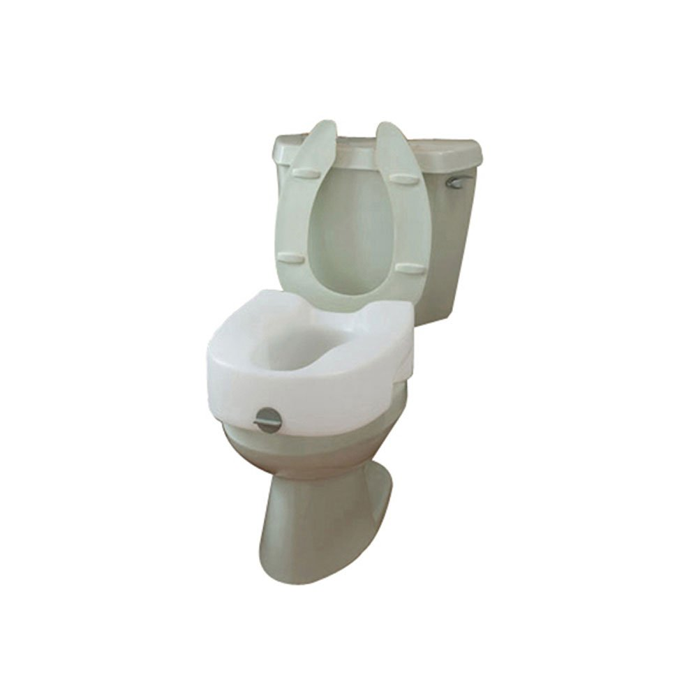 Maddak Bath Safe Lock On Elevated Toilet Seat (725753101) by SP Ableware