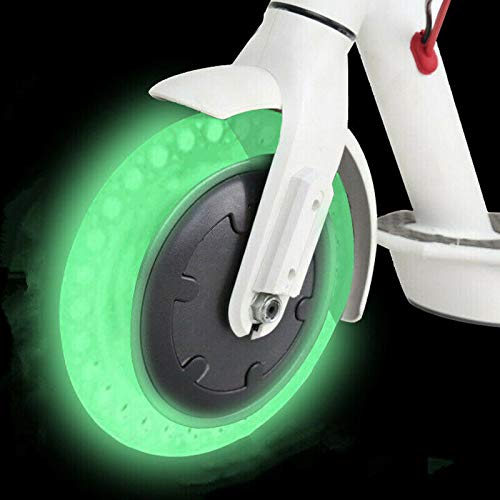 chuancheng Honeycomb Rubber Fluorescent Solid Tubeless Tyre 8 1/2×2 Tire for Xiaomi M365 Electric Scooter Wheel 8.5inch by chuancheng