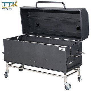 TableTop King 60'' Charcoal / Wood Smoker - Assembled by TableTop King