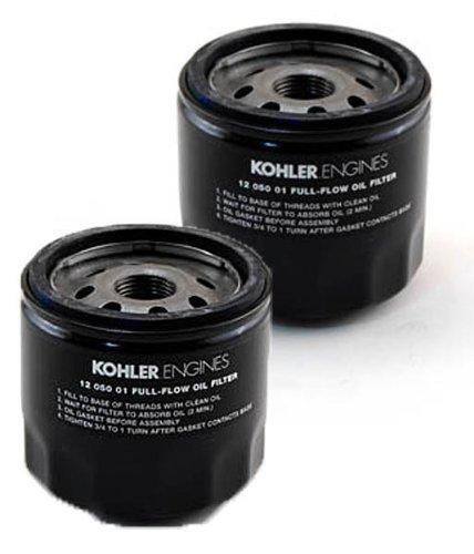 Set of 2 KOHLER 12 050 01-S Engine Oil Filter ()