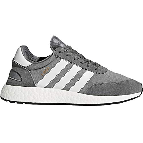 (adidas Originals Iniki Vintage Suede Training Shoes Trainers - Grey -)