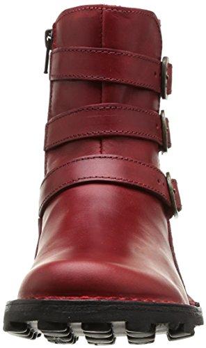 Fly London Myso, Stivali Da Motociclista da donna Rosso (Red 003)