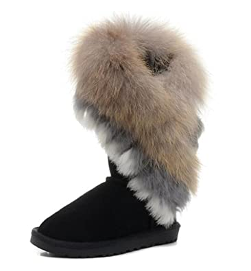 Amazon.com | IVG Women's Winter Boots, Indian Style Real