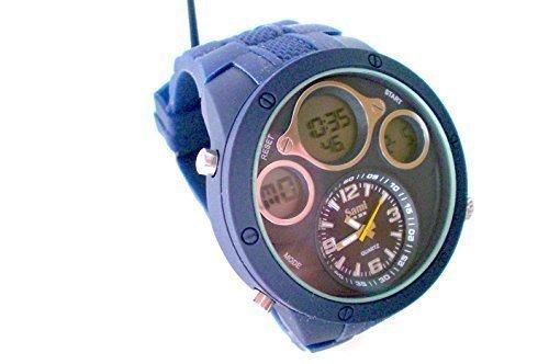 Sami RSM-77752-1 Reloj Dual Digital Analogico Modulo Especial Water Resistant 30m: Amazon.es: Relojes