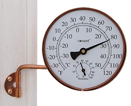 Conant TH6LFC Vermont Weather Station with Living Copper Finish ()