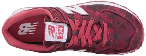 Balance New Wl574 Rosso Donna red Stivaletti H01d0wWq