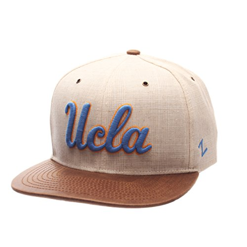 Zephyr NCAA UCLA Bruins Adult Men's Havana Snapback Hat, Adjustable Size, Ivory/Dark Brown