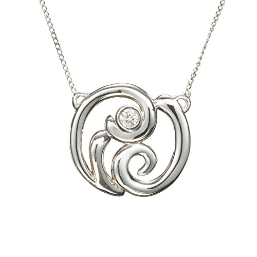 (Small diamond pendant by Majade. Simple diamond necklace, dainty real diamond gold necklace. Handmade solid 14k white gold bezel set diamond necklace. Tiny minimalist jewelry. Delicate diamond choker.)