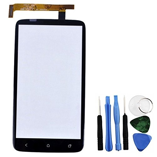 BisLinks Black Touch Screen Digitizer Replacement Part Repair Fix for HTC One X S720e G23 (Htc X One S720e)
