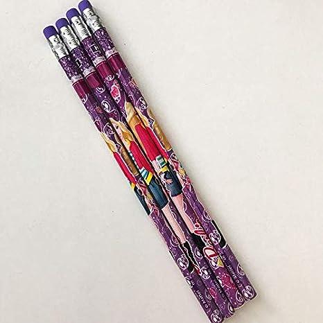 Haoxuei Crayon 4pcs Set Kawaii Jolie Princesse Fille Poupée