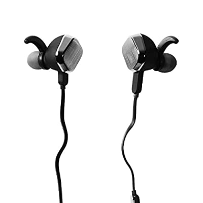 Sports Bluetooth 4.1 In-Ear Earphone with Magnetic Adsorption,SOLEMEMO Stereo Wireless Headset Earbud Headphone with Microphone,Noise Isolating For Gym,Running,Jogger,Exercise,Game,Workouts