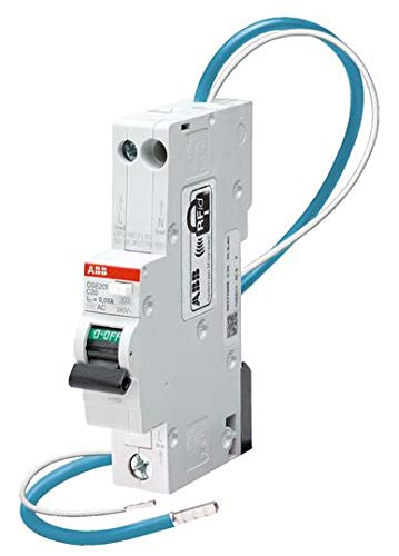 2CSR255051R1324 | DSE201 C32 AC30 | ABB RESIDUAL CURRENT CIRCUIT BREAKER WITH OVERCURRENT PROTECTION RCBO, 1P+N, 30MA, TYPE C