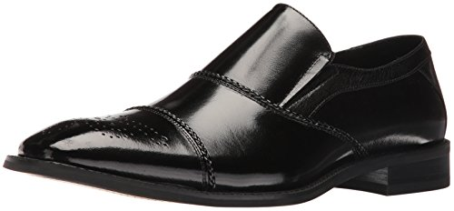 Stacy Adams Men's Brecklin Cap Toe Slip-On Loafer Black cheap shop offer discount recommend cheap marketable free shipping websites affordable cheap price gGcasX