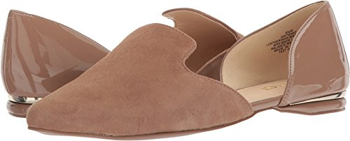 Nine West Women's Shay Natural/Natural Suede 10.5 M US