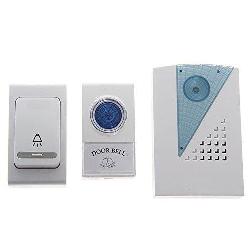 LECHEERS Electronic Doorbell Music Doorbell Wireless Doorbell Welcome Hhome Security Devices