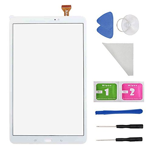 PC Hardware : White Touch Screen Digitizer Replacement for Samsung Galaxy Tab A 10.1 T580 T585 SM-T580 SM-T585 With Tools (Not Include Lcd)