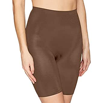 Flexees Women's Cover Your Bases Smoothing Slip Short, Bronze, 2X Large