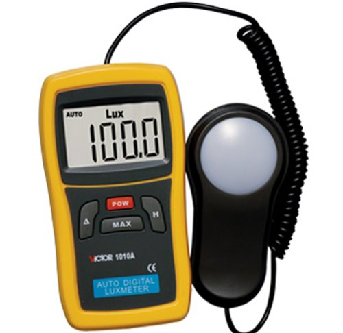 Victor Vc1010a Handheld Digital Luxmeter Photo Light Meter Lumens Test Illuminance Meter