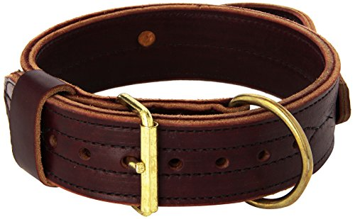 Signature K9 Heavy Agitation Collar with Handle, 2-Inch, Burgundy