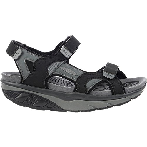 MBT Men's Saka 6S Sport Sandal Black/Charcoal Synthetic 42 Medium -  700787-201L