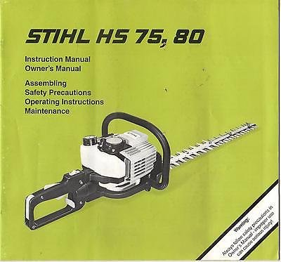 Stihl hs 45 hedge trimmers for sale only 3 left at 70 - Stihl hs 75 ...