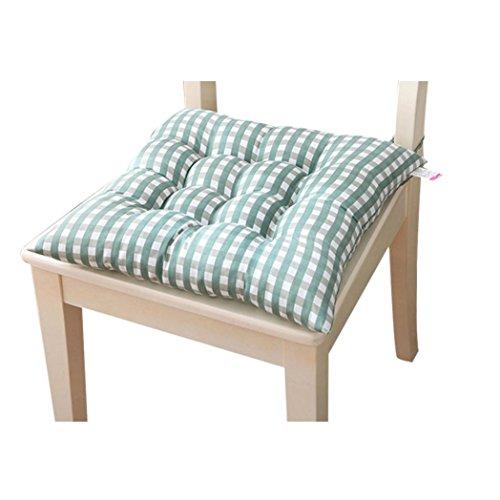 Pad Chair Garden (Sothread Indoor Garden Patio Home Kitchen Office Chair Pads Seat Pads Cushion New (Green))