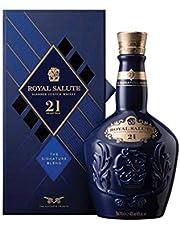 Chivas Regal Royal Salute 21 Years Old Sapphire Flagon, 700 ml