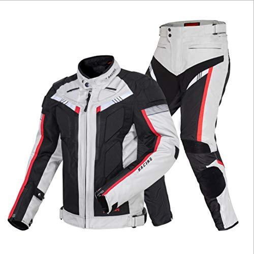 NCBH Motorfiets Waterdicht Pak Motorfiets Armor Pak Motorbike Racing Pak Bike Rider Pak Alle Weer Dragen Pak Ideaal voor…
