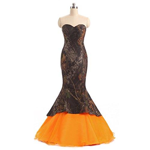 formal camouflage wedding dresses - 2