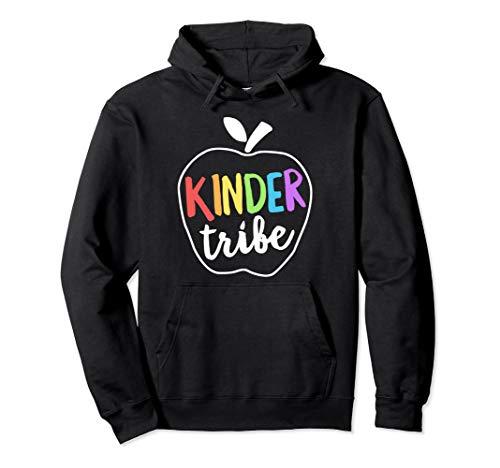 (Kinder Tribe Hoodie Kindergarten Teacher First Day School)