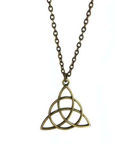 Fallen Saint Triquetras (Charmed Symbol) Necklace - Gift Boxed