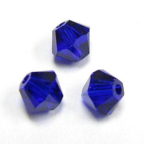 Swarovski 5301 24 Piece (Dreambell 72 pcs Swarovski Elements 5328 Xilion Crystal Bead Cobalt Blue 4mm / Findings / Crystallized Elements)
