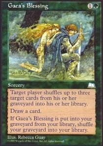 Magic: the Gathering - Gaea's Blessing - - Blessings Collectible